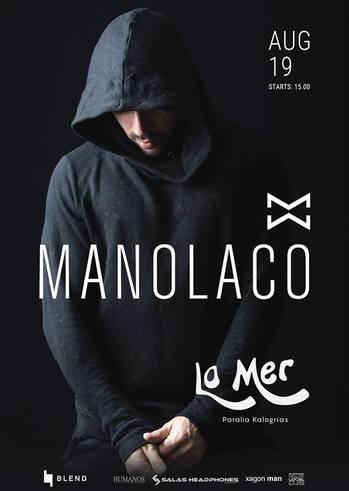 Manolaco at La Mer Beach Bar