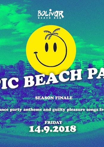 The Epic Beach Party - Season Finale at Bolivar Beach Bar
