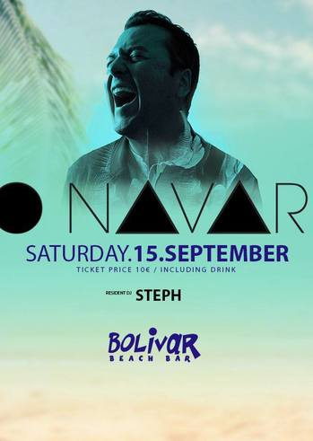 Kiko Navarro at Bolivar Beach Bar