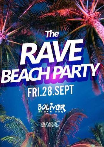 Beach Rave Party at Bolivar Beach Bar