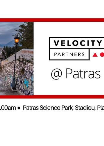 Velocity Travels στο Επιστημονικό Πάρκο Πατρών