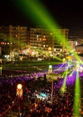 Τελετή έναρξης Πατρινού Καρναβαλιού 2019 στην πλατεία Γεωργίου