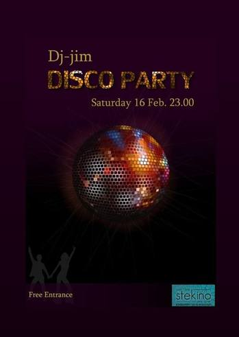 Disco Party στο Stekino
