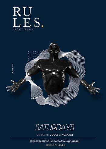 Saturdays at Rules Club