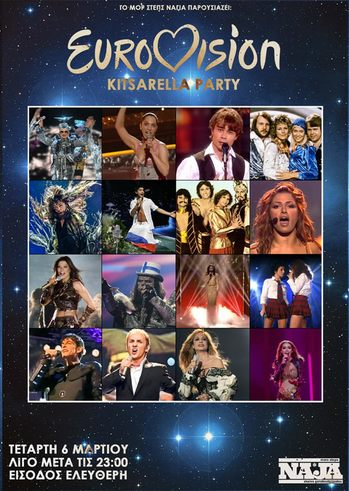 Eurovision Kitsarella Party at More Steps Naja