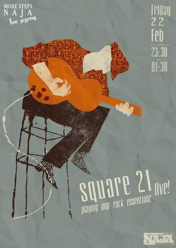 Square21 live at More Steps Naja