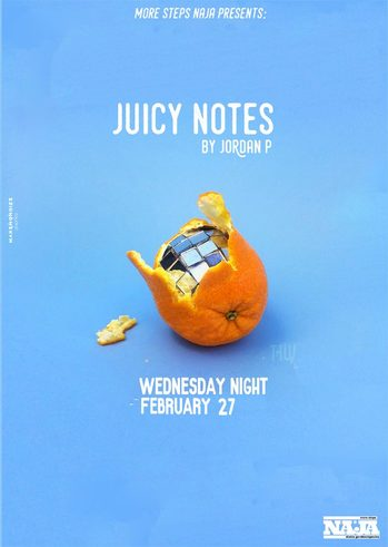 Juicy Notes at More Steps Naja