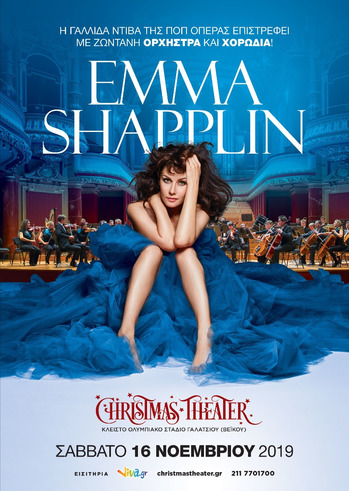 Η Emma Shapplin στo Christmas Theater