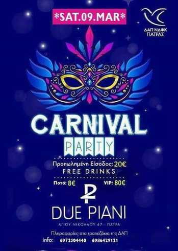 Carnival party at Due Piani