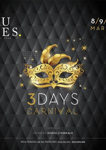3 Days Carnival at Rules Club