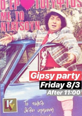 Gipsy Party at Sud cafe