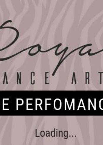 Dance performance at Royal