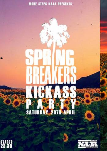 Spring Breakers Kickass Party at More Steps Naja