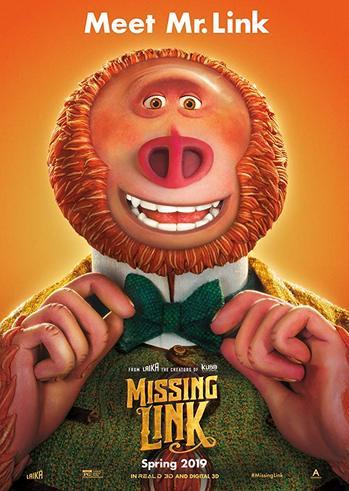 """Προβολή Ταινίας """"Missing Link"""" στην Odeon Entertainment"""