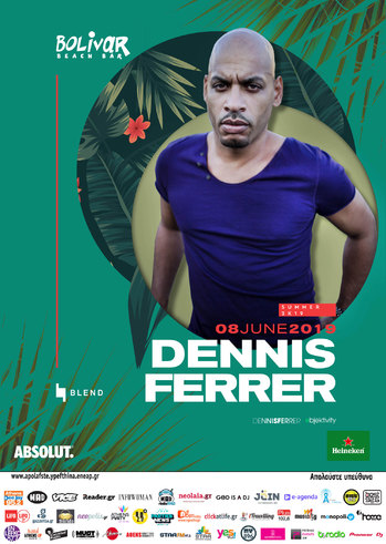 Dennis Ferrer at Bolivar Beach Bar