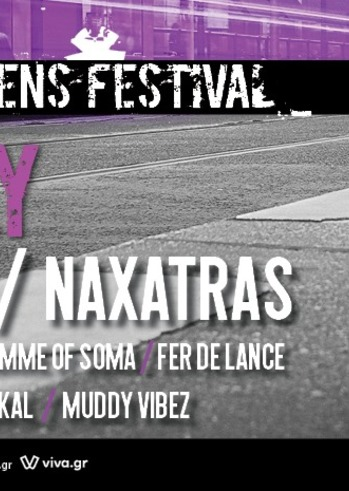 Βέβηλος, Naxatras & more at Urban Athens Festival