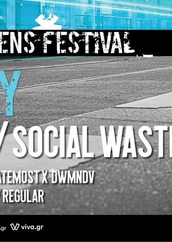 Τζαμάλ, Social Waste & more at Urban Athens Festival