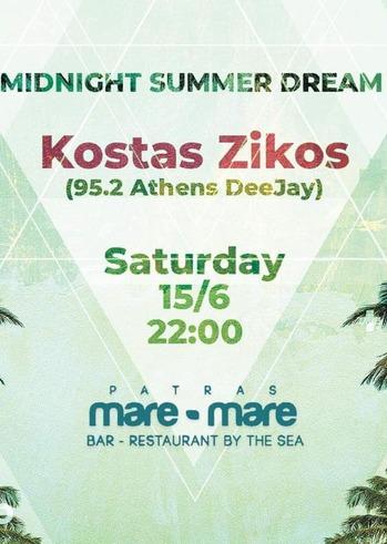 Kostas Zikos at Mare Mare