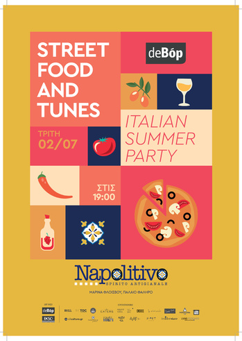 Italian Summer Party at Napolitivo Bar Restaurant