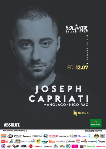 Joseph Capriati at Bolivar Beach Bar