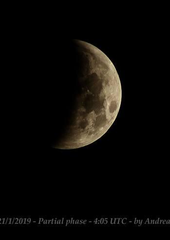 Παρατήρηση μερικής έκλειψης Σελήνης στο Νότιο Πάρκο