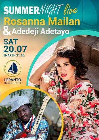 Rosanna Mailan & Adedeji Adetayo at Lepanto Beach Hotel