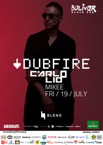 Dubfire - Carlo Lio at Bolivar Beach Bar