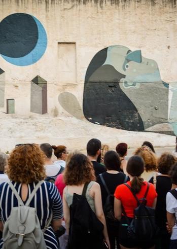 ArtWALK 4 - Ξενάγηση στην υπαίθρια γκαλερί της Πάτρας