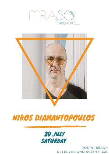 Nikos Diamantopoulos at Mirasol