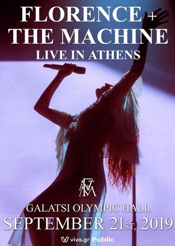 Οι Florence & Τhe Machine στοΩδείο Ηρώδου Αττικού