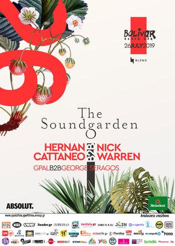 The Soundgarden Nick Warren B2B Hernan Cattaneo at Bolivar Beach Bar