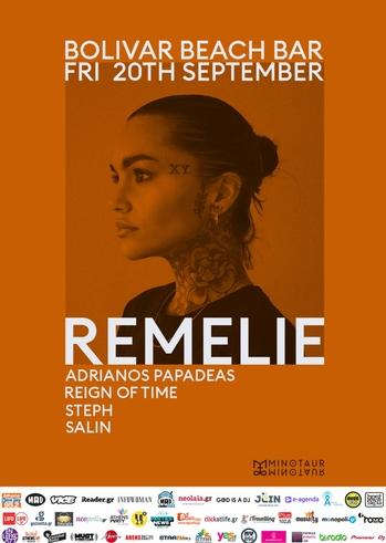 Remelie at Bolivar Beach Bar