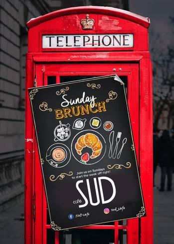 Sunday Brunch at Sud Cafe