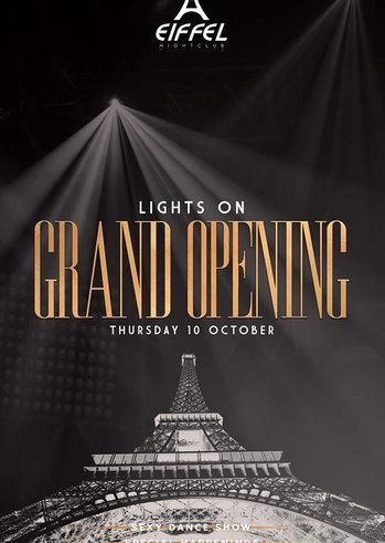 Grand Opening at Eiffel