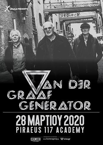 Van der Graaf Generator atPiraeus 117 Academy