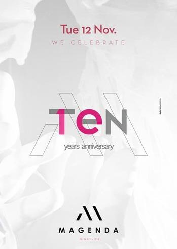 Ten Years Anniversary at Magenda