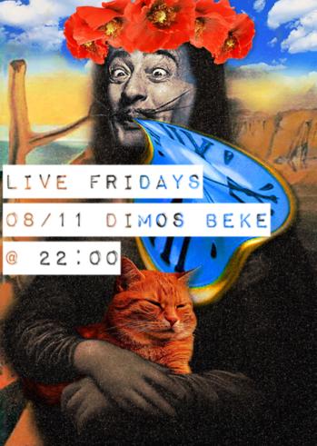 Dimos Beke at Quinta Jazz Bar & Restaurant