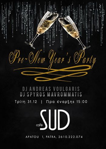 Pre-New Year's Party at Sud Cafe