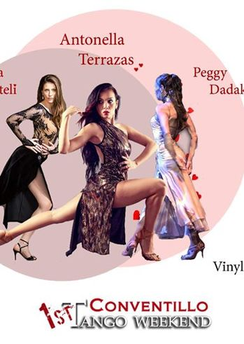 """1st Conventillo Tango Weekend """"Mujeres Enamoradas Del Tango"""" στο El conventillo - Escuela de Tango"""