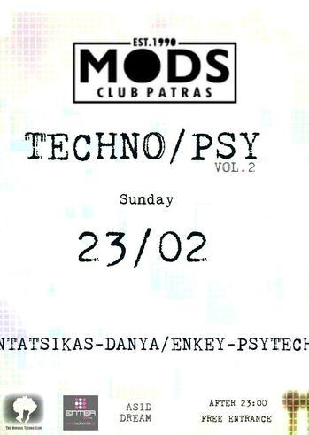 Techno/Psy Vol.2 at Mods Club