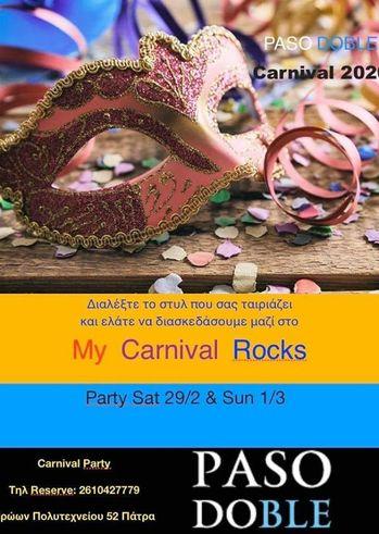 My Carnival Rocks at Paso Doble