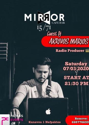 Marios Akrivos at Mirror1571