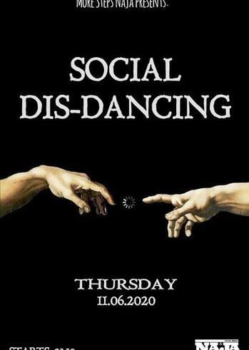 Social Dis Dancing at More steps Naja