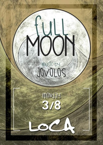 Full moon at Loca