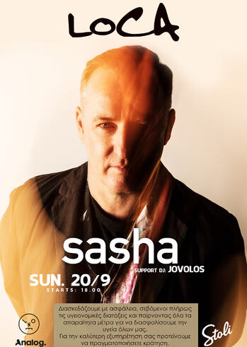 Sasha at Loca Beach Club