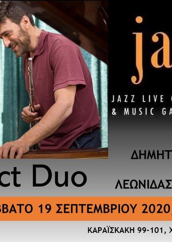 InContact Duo at Jazzet Café