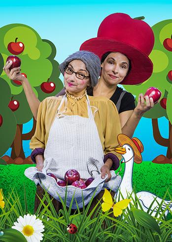 """""""Μήλα Ζάχαρη Κανέλα""""στην Παιδική Σκηνήτου Θεάτρου Φούρνος"""