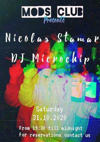 Nicolas Stamar & Dj Microchip at Mods Club