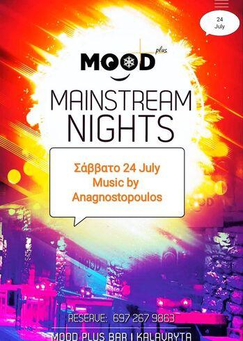 Mainstream Saturday's at Mood Plus