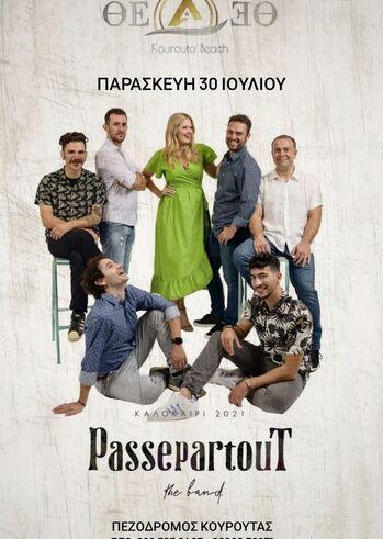 PASSEPARTOUT live at THEA Cafe Bar Pez Kouroutas